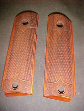 BROWNING 1911-22/380 Pistol Grips Checkered/Stippled Rosewood Beautiful NEW!