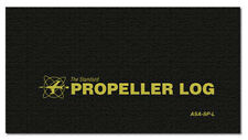 ASA Propeller Log - Black Softcover Logbook - ASA-SP-L