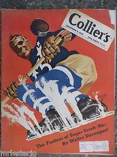1941 December 6 Colliers Magazine Met's Edward Johnson VINTAGE ADS WW II  Hockey