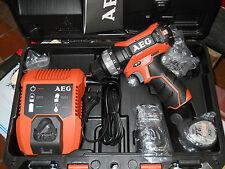 AEG BS 12C Akku-Bohrschrauber