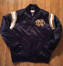 Notre Dame Mitchell & Ness Jacket New Med