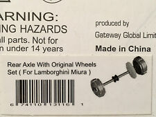 AutoArt 13116 1:32 Lamborghini Miura Rear Axle with Original Wheels Set Slotcar