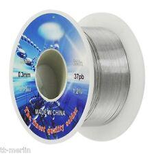 M 06 Lötzinn 0,3 mm - 30 Gramm mit Flußmittel  Lötdraht  SMD Lot  ultra dünn