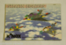 K'nex Instruction Leaflet Stealth Fighters 21020 Instructions only
