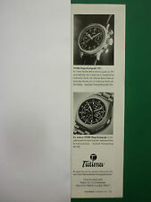 12/1997 PUB MONTRE TUTIMA UHRENFABRIK WATCH FLIEGERCHRONOGRAPH GERMAN AD