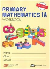 Singapore Primary Mathematics Workbook 1A US Ed - FREE Expedited Upgrade W $45