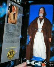 "STAR WARS 12"" OBI WAN KENOBI KENNER BLUE BACKGROUND BOX"