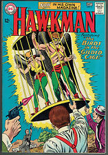 """HAWKMAN 3  VF/NM/9.0  -  """"The Birds in the Gilded Cage!"""""""