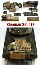 1/35 Scale Sherman Engine Deck Set #13 Value Gear Details - Resin Stowage