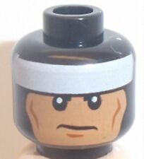 Lego Batman Head x 1 Black Super Hero Head for Minifigure