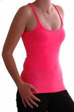 Womens Sleeveless Casual Racer Back Muscle Bodycon Vest T-Shirt Tank Tops