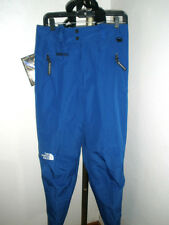 NWT Men's 1995 The North Face Blue Kichatna Gore-Tex Ski Snow Bibs Medium