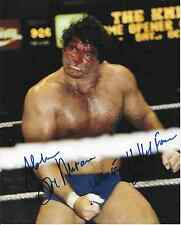 DON MURACO WWF WWE SIGNED AUTOGRAPH INSCRIBED 8X10 PHOTO