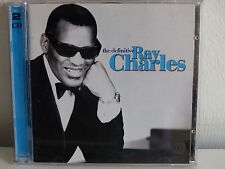CD ALBUM RAY CHARLES The definitive 2XCD 8122 73556 2