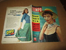 RIVISTA TEMPO DICEMBRE 1956 ELSA MARTINELLI CURZIO MALAPARTE MAO TSE TUNG
