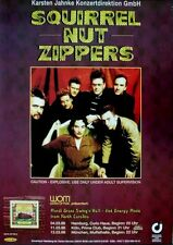 SQUIRREL NUT ZIPPERS - 1998 - Tourplakat - In Concert - Perennial Favorites - To