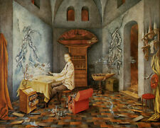 Harmony   by Remedios Varo   Giclee Canvas Print Repro