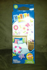 Motifs in a Minute Peel & Stick Wall Decorations - Butterfly/LadyBug Themed