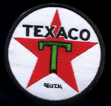 Texaco patch badge gas station star gasoline motor oil hot rod drag race retro