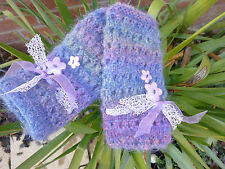 Romantic Lace Mohair ladies  fingerless gloves , mittens,Fairy - Kei,Lolita