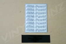 BMW M-Power 1 Decals Stickers for Wheel Rims x8 Superior Cast M1 M3 M4 M5 1 3 5