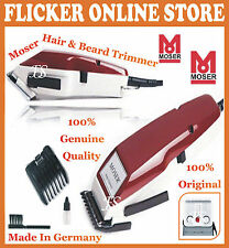 100% ORIGINAL MOSER PROFESSIONAL HAIR CLIPPER 1400-0050 & HAIR TRIMMER (GERMANY)