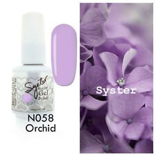 SYSTER 15ml Nail Art Soak Off Color UV Lamp Gel Polish N058 - Orchid