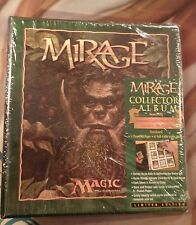 MIRAGE Collector's Album MTG Magic Limited Edition Illustrated Guide Sheets RARE