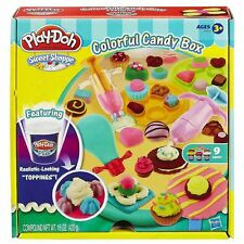 NEW Playdoh Sweet Shoppe Candy Box play dough cake cookies