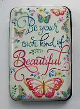 q Beautiful butterfly CREDIT CARD HOLDER CASE rfid Identity theft blocker