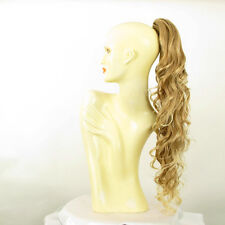 Hairpiece ponytail wavy long light blond blond copper wick 65 cm 10 27t613 peruk