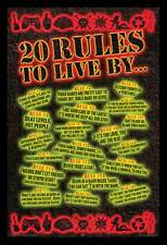 POSTER 20 Rules to Live By Video Games