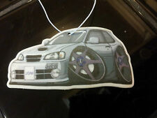 10 x Customized Toyota Starlet Glanza GT Hanging Car Air Freshener JDM Turbo