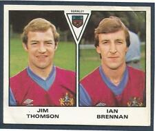 PANINI FOOTBALL 80- #400-BURNLEY-JIM THOMSON / IAN BRENNAN