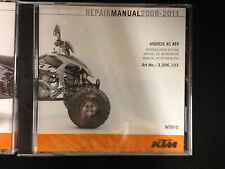 NEW GENUINE KTM OEM CD REPAIR MANUAL 2008-2012 450/525 XC ATV #3206157