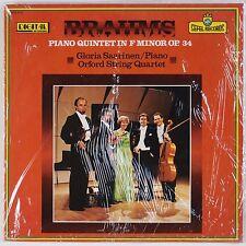 BRAHMS: Piano Quintet, Saarinen Orford String SEFEL Digital Audiophile SEALED LP
