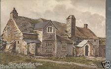 Tintagel Old Post Office  Artist's impression Old Unposted Postcard
