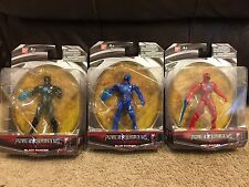 Power Ranger Action Hero Figure Lot Bandai 2016 Red Blue Black