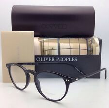 New OLIVER PEOPLES Eyeglasses RILEY R BK OV 5004 1005 43-20 Black Frames