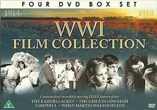 WWI FILM COLLECTION 4 DVDs THE KAISERS LACKEY, FAREWELL & MORE World War 1 WW1