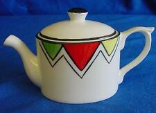 EMMA BAILEY HARLEQUIN BUNTING MINI TEAPOT - ENGLISH STAFFORDSHIRE BONE CHINA