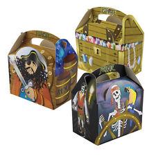 8 Bambini Bimbi Pirata Porta Pasto Cibo Picnic Bottino Festa Di Compleanno Borsa