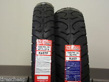 "TWO TIRE SET MOTORCYCLE TIRES 100/90-19 FRONT 140/90-16 REAR  K657  19"" 16"""