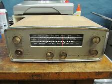VOICE OF MUSIC 1467 tube receiver UNTESTED has tubes stereo 60s hifi