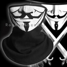 V for Vendetta Fawkes Anonymous Balaclava Fancy Cosplay Costume Half Face Mask