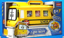 Academy Robocar Poli SCHOOL BI CARRIER Storage Bus Car Toy Not including diecast