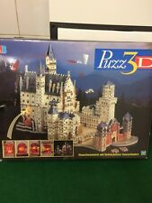 PUZZ 3D Neuschwanstein mit beleucheten innenraumen MB Games over 800 pieces