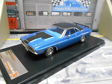 DODGE Challenger R/T COUPE muscle car v8 US 1970 Blue me Ixo Premium x 1:43 NUOVO