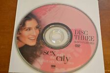 Sex and the City Sixth Season 6 Part Two Disc 3 Replacement DVD Disc Only ****