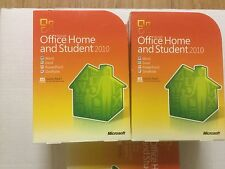 MICROSOFT OFFICE HOME AND STUDENT 2010 FAMILY PK 3 USER 3PC 64/32 BIT RETAIL BOX